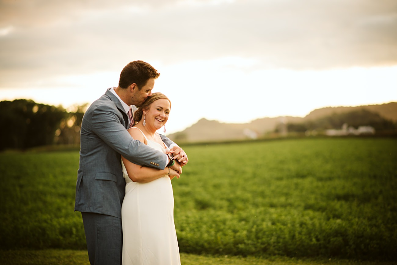 Octagon Barn Wedding near Spring Green Wisconsin, Barn Wedding Inspiration, Madison Wisconsin Photographer, Natural Intuition Photography, Sunset Photos
