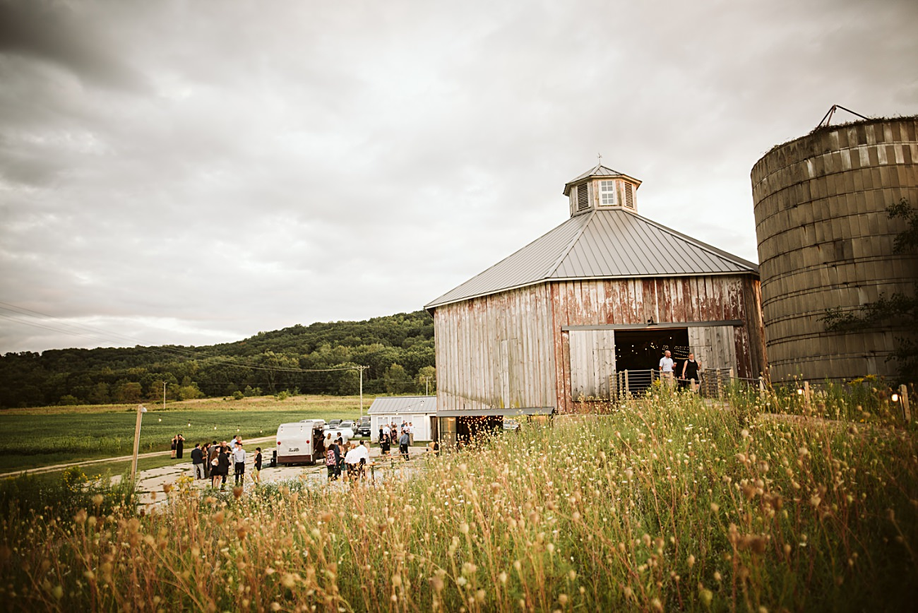 Octagon Barn Wedding