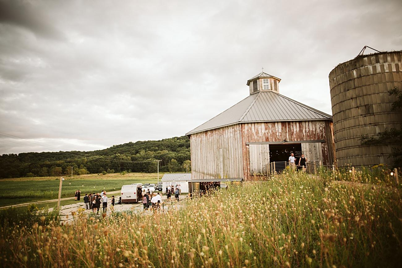 Octagon Barn Wedding